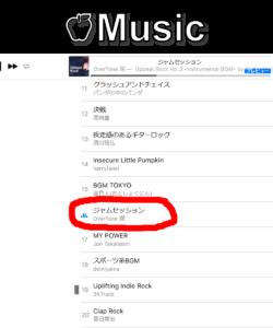 ジャムセッション アップルミュージック