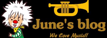 June's blog メインロゴ